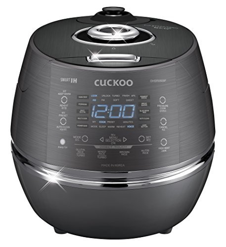 Cuckoo Electric Induction Heating Pressure Rice Cooker CRP-DHSR0609FD by Cuckoo