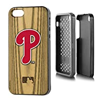 "MLB Philadelphia Phillies Rugged Series Phone Case iPhone 5/5s, 5.75 x 2.75"", Brown"