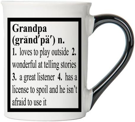 Grandpa Mug, Grandpa Coffee Cup, Ceramic Grandpa Mug, Father's Day Gift By Tumbleweed