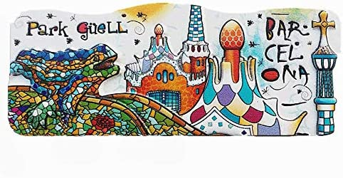 MUYU Magnet Park Guell of Barcelona - Imán para Nevera, colección ...