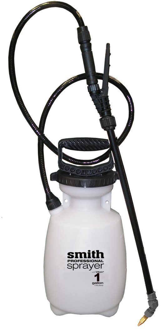 Smith Professional 190229 1-Gallon Sprayer for Applying Weed Killers or Cleaning with Bleach