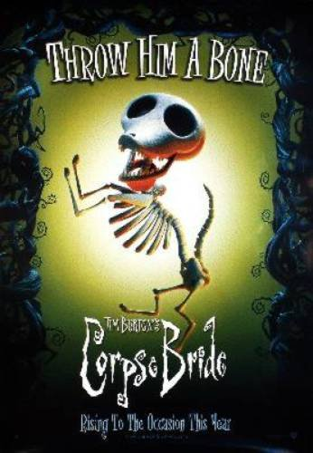 Corpse Bride Reprint Dog 27x41 New Johnny Depp Poster At Amazons