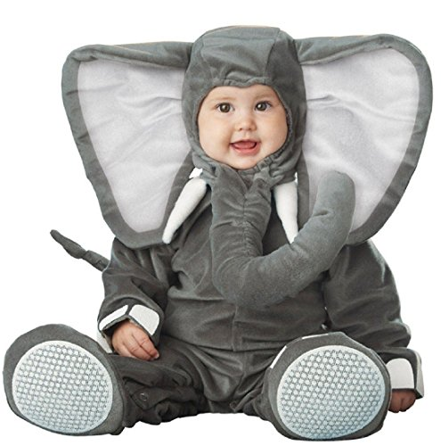 InCharacter Costumes Baby's Lil' Elephant Costume, Grey, Small/6-12 Months for $<!--$35.72-->