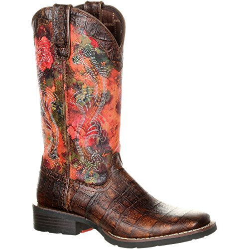 Durango Mustang Women's Faux Exotic Western Pull-on Boot ()