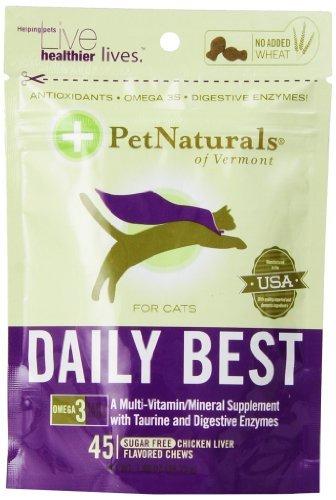 Pet Naturals Daily Best pour chats (45 count)
