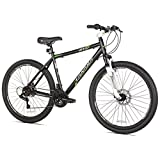 Takara Front Suspension Disc Brake Mountain Bike, 19-Inch/27.5-Inch, Black