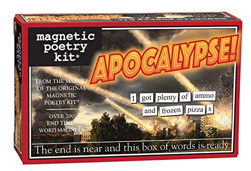 Apocalipsis - imá n del refrigerador juego - Poesí a del refrigerador Unemployed Philosphers MP3622