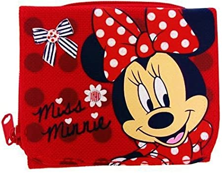 735c760a68cd Disney Minnie Mouse - Gorgeous Girls Red Wallet / Purse Zip and Popper  Sections: Amazon.co.uk: Kitchen & Home