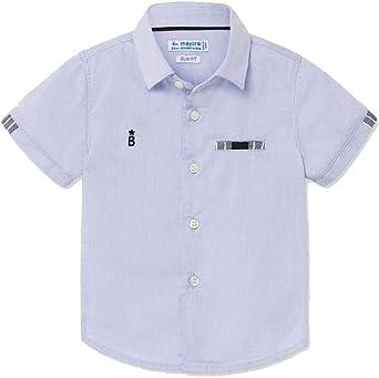Mayoral Camisa Elegante para niños, 9 Meses (74 cm), Azul Claro: Amazon.es: Ropa y accesorios
