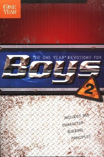 The One Year: Devotions for Boys - 2