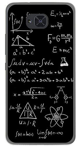 Tumundosmartphone Funda Gel TPU para BQ AQUARIS U2 / U2 Lite diseño Formulas Dibujos