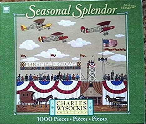 Charles Wysocki Seasonal Splendor Collection Mansfield Air ...