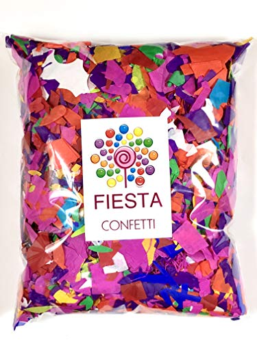 Fiesta Confetti.Value Colorful Tissue Paper Confetti. Jumbo Bag .95lb/425gr. Party Supplies Item