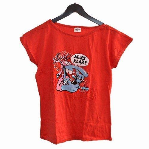 Werner - Fanshirt - T-Shirt - rot - 'Alles klar?' - Gr. L