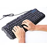 Koolertron LED Backlit Keyboard and Mouse Combo