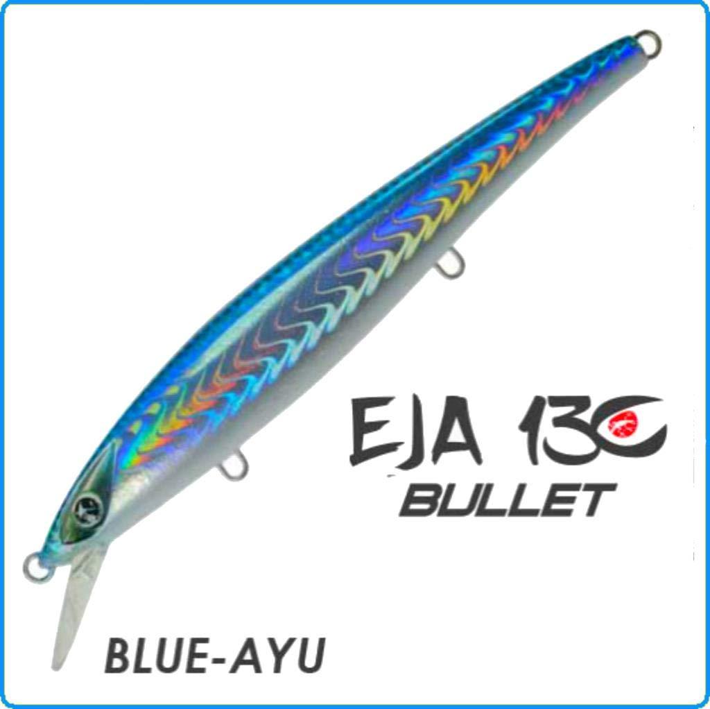 Seaspin Artificiale EJA Bullet 130mm 28g Blue-AYU Spinning SPIGOLA Serra LECCIA