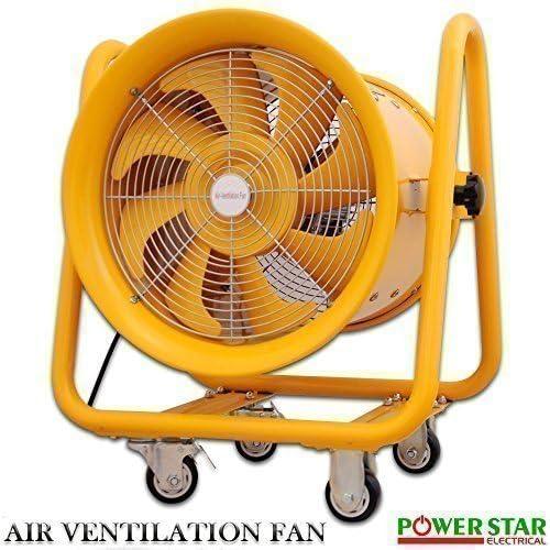 Portátil Industrial Ventilador ESCAPE Axial Ventilador Extractor a ...