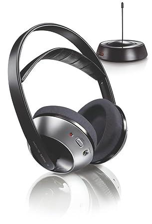 Philips SBCHC8440/05 Negro Circumaural Diadema auricular - Auriculares (Circumaural, Diadema, Inalámbrico