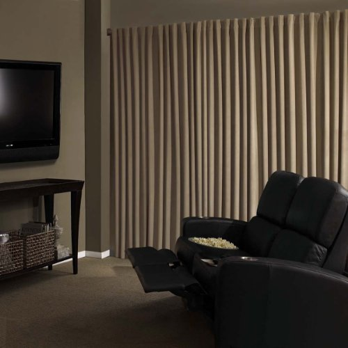 Amazon.com: Absolute Zero Velvet Blackout Home Theater Curtain ...