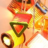 20 New Mixed Design Color Chinese Paper Lantern Fairy String Lights Patio Party By Zixzax