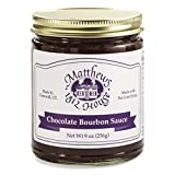 Matthews 1812 House Chocolate Bourbon Sauce 9 oz
