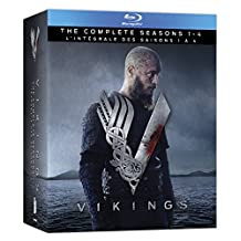 Vikings: Seasons 1-4 Box Set [Bilingual] [Blu-ray]