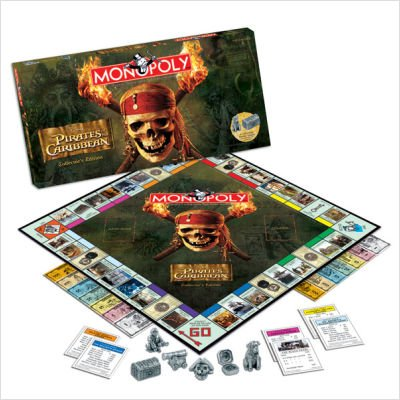 Usaopoly Pirates Of The Caribbean Collector's Edition
