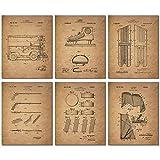 Hockey Patent Prints - Set of