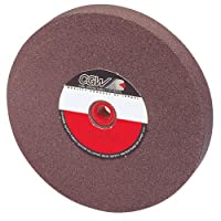 "CAMEL Brown Aluminum Oxide Bench And Pedestal Grinding Wheel - Size: 10""X 1""X 1-1/4"" Specification: A36-O"