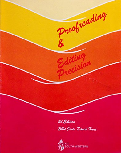Proofreading and Editing Precision (EC-Business Communications)