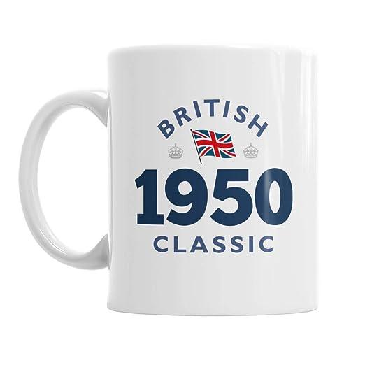 70th Birthday, 70th regalo de cumpleaños, clásico británico ...