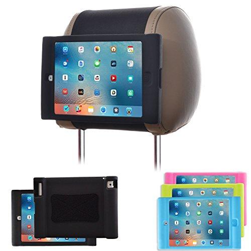 TFY Soporte para Reposacabezas de Coche para iPad 4 / iPad 3 / iPad 2 Infantil – Desprendible Ligero a Prueba de Golpes...