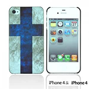Vintage National Flag Hard Back For Iphone 6Plus 5.5Inch Case CoverFinland