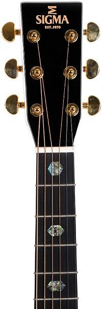 Guitarra Acústica/Electroacústica Sigma OMA-40E-AN+, with Pickup ...