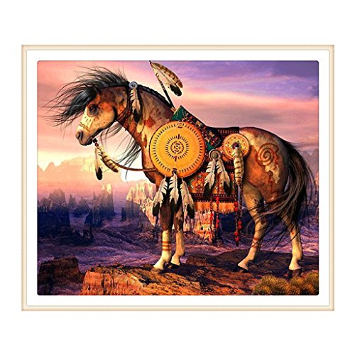 Shoresu 5D DIY Diamond Painting, Horse 5D DIY Painting Painting By Numbers Diamonds Embroidery Painting Cross Stitch Kit DIY Home Decor