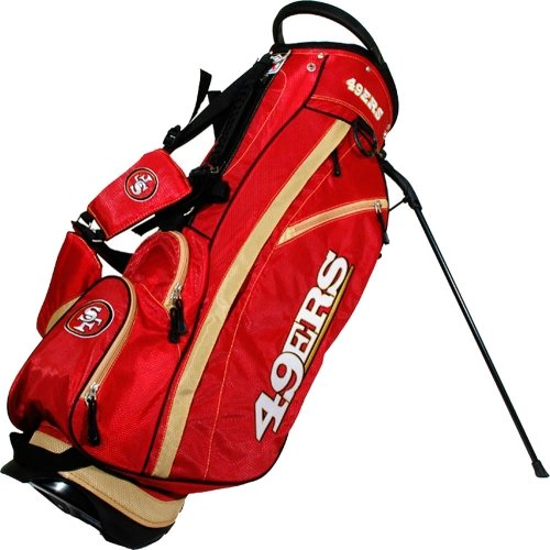 - Team Golf NFL San Francisco 49ers Fairway Golf Stand Bag, Lightweight, 14-way Top, Spring Action Stand, Insulated Cooler Pocket, Padded Strap, Umbrella Holder & Removable Rain Hood