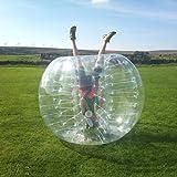 HolleywebTM Clear Bubble Soccer Ball Dia 5' (1.5m) Inflatable Bumper Bubble Balls For Bubble Football