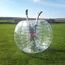 HolleywebTM Clear Bubble Soccer Ball Dia 5' (1.5m) Inflatable Bumper Bubble Balls For Bubble Football