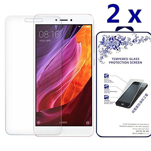 Price comparison product image Xiaomi Redmi Note 4X Screen Protector [2 Pack] - Nacodex Tempered glass Screen Protector with [Scratch-Resistant] [No-Bubble] with Lifetime Replacement Warranty