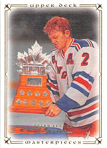 - Brian Leetch hockey card (New York Rangers 1994 Conn Smythe) 2008 Upper Deck Masterpieces #49