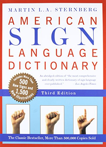 American Sign Language Dictionary, Third Edition (Eagle Street Sign)