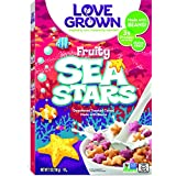 Love Grown Sea Stars Cereal, 7 oz. Box
