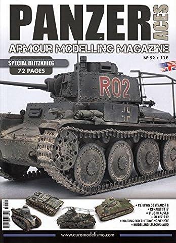 AMMPA0052 Panzer Aces Armor Modelling Magazine #52 - Blitzkrieg Special - Modelling Magazine