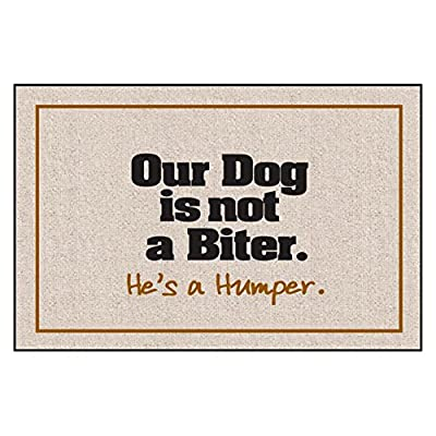Our Dog Not a Biter Indoor/Outdoor Doormat