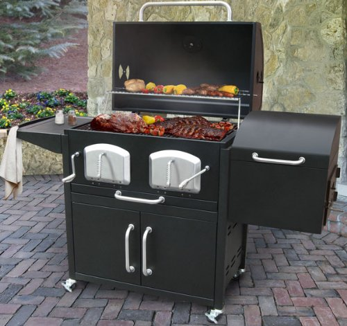 Landmann 591320 Smoky Mountain Bravo Premium Charcoal
