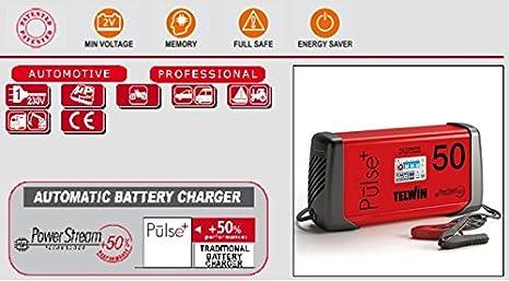 Telwin 807598 Model Doctor Charge 50 Cargador de Bater/ías 330mm x 100mm x 160mm