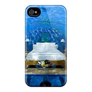 For Iphone 4/4s Tpu Phone Case Cover(absolutely The Best Bedroom In The World)