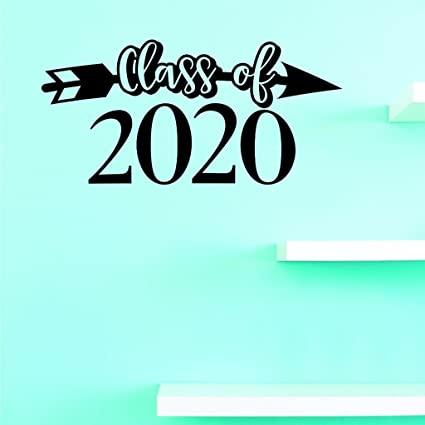 Fall 2020 Decals.Amazon Com Top Selling Decals Class Of 2020 Wall Art Size