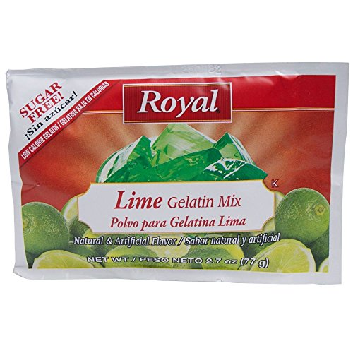 Royal Assorted Citrus Sugar Free Gelatin, 2.7 Ounce - 18 per case. by Clabber Girl (Image #2)