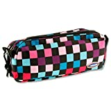 Premier Stationery''Squares'' Twin Zip Pencil Case